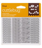 Cricut® Cuttlebug® Pack of 4 Confetti Dies-All Girl, , hi-res