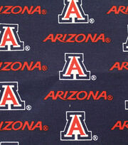 "University of Arizona Wildcats Canvas Fabric 58""-Logo, , hi-res"