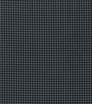 "Keepsake Calico™ Cotton Fabric 43""-Black Gray Houndstooth, , hi-res"