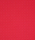 Valentine\u0027s Day Fabric 43\u0027\u0027-Red Heart Dots