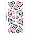 Vellum Stickers-Hearts Of Love