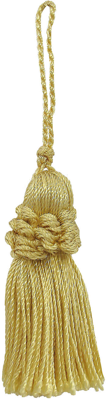 Ss 2in Daffodil Rouched Tassel