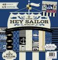 DCWV 12\u0022x12\u0022 Hey Sailor Stack