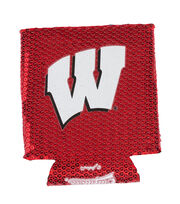 University of Wisconsin Badgers Sequin Koozie, , hi-res