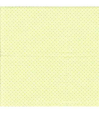 Snuggle Flannel Fabric 42''-Green Diagonal Plaid