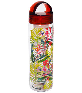 Summer 24oz. Infusion Hydration Bottle-Floral