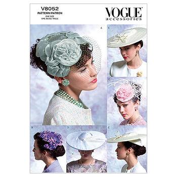 Vogue Patterns Misses Headgear-V8052