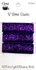 Dritz 0.63\u0022x1 yd Glitter Elastic