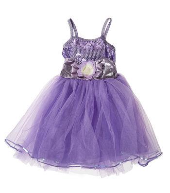 Fashion & Fluff™ Purple Party Dance Dress
