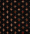 Home Decor 8\u0022x8\u0022 Fabric Swatch-Print Fabric Eaton Square Jenna Onyx