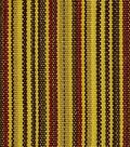 Home Decor 8\u0022x8\u0022 Fabric Swatch-Robert Allen Bristol Stripe Acorn Fabric