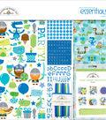 Doodlebug Essentials Page Kit 12\u0022X12\u0022-Dragon Tails