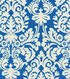 Waverly Print Fabric-Close Up/Navy