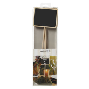 14in Chalkboards Stakes 3x4 In Face