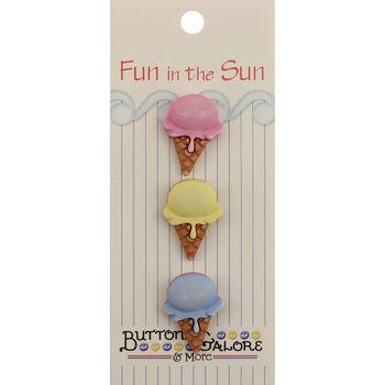 Fun In The Sun Buttons-Single Scoop