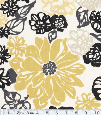 """Home Essentials Print Fabric 45""""-Invigorate Oro"""