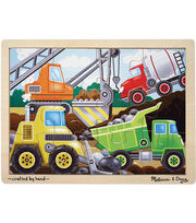 Melissa & Doug Construction Site Jigsaw (12 pc), , hi-res