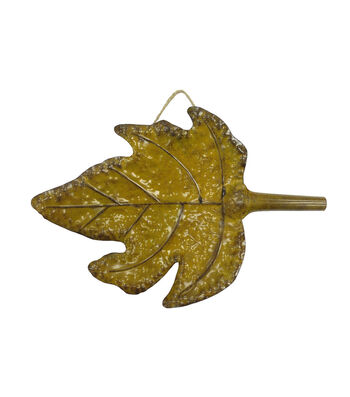Art of Autumn Wall Decor-Yellow Leaf