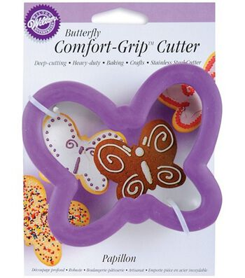Wilton® Comfort-Grip Cookie Cutter-Butterfly