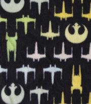 "Star Wars™ Rogue One Fleece Fabric 58""-Chevron Ships, , hi-res"