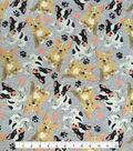 Doodles® Cotton Fabric 57\u0022-Curious Pug