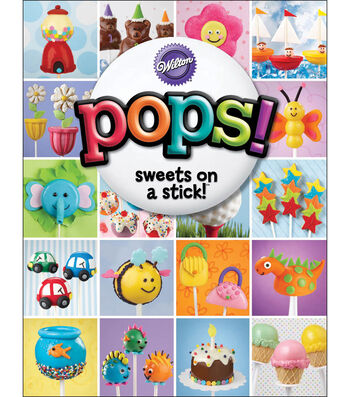 Wilton® Pops! Sweets On A Stick Book