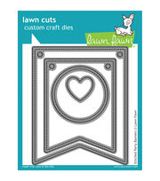 Lawn Fawn Lawn Cuts Custom Craft Die -Stitched Party Banners, , hi-res
