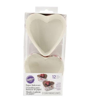 "Wilton® Disposable Bakeware 12/Pkg-3"" Heart"