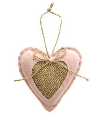 Valentine's Day Decor Heart Door Hanger-Pink