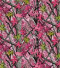 Mock Smock Fabric 21\u0027\u0027-Pink True Timber