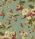 Waverly Upholstery Fabric 54\u0022-Fleuretta/Bayberry