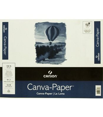 "Canson Canva-Paper Pad 12""X16"""