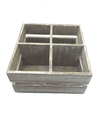 Bloom Room 4 Cubbie Wooden Tray