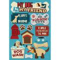 Karen Foster Dog Cardstock Stickers My Dog, My Friend