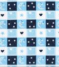 Nursery Cotton Fabric 43\u0027\u0027-Love You to the Moon and Back Patch