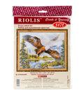RIOLIS Counted Cross Stitch Kit 19.75\u0022X15.75\u0022-Free Fall