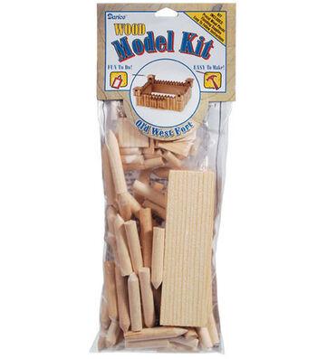 Darice Wood Model Kit-Fort