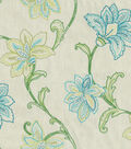 Home Decor 8\u0022x8\u0022 Fabric Swatch-Waverly Mystical Embr Jade