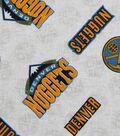 Denver Nuggets Cotton Fabric 44\u0022-Logo Toss