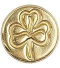 Manuscript Decorative Seal Coin-Shamrock