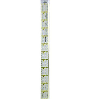 """Omnigrid Quilter's Ruler 1""""X12.5"""""""