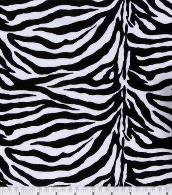 Halloween Fabric-Zebra Costume Suede