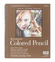 Strathmore® 11''x14'' Colored Pencil Spiral Paper Pad, , hi-res