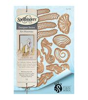 Spellbinders® Art Nouveau Shapeabilities® Die-Nouveau Sea Life, , hi-res