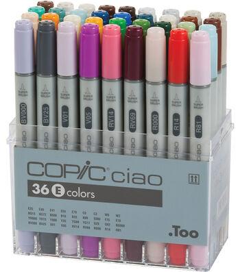 Copic Ciao Marker Set-36PK/Set E