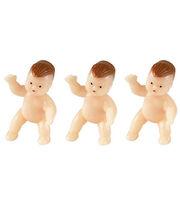 Wilton® 6 pk. Plastic Newborn Babies Favors, , hi-res