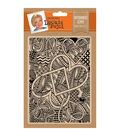 Leonie Pujol 5\u0027\u0027x7\u0027\u0027 Embossing Folder-Entwined Love
