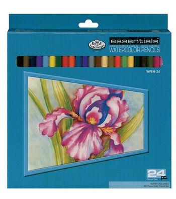 Watercolor Pencils 24/Pkg-Assorted