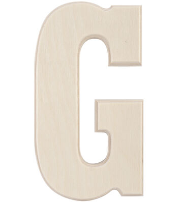 Baltic Birch University Font Letters & Numbers 5""