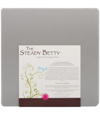 "Steady Betty Pressing Surface-16""X16"" Gray"